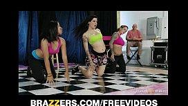 Sexy tattooed dance instructor...