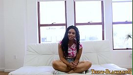 Black teen pov creampied...