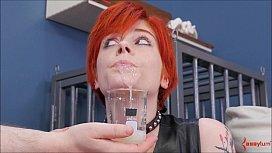 Redhead Slut Ava Little...