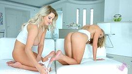 Anal preparation lesbian scene...