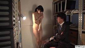 JAV CMNF ENF Maki Hoshikawa Office Striptease Subtitled spankbang