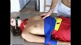 Supergirl hanging...