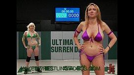 Lesbians naked wrestling and...