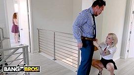 BANGBROS - Husband Stretches Real...