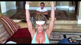 Brandi Love screams & shouts as her gym lover rams her MILF cunt - MilfyMom.com