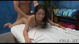 Cheerful endings massage...