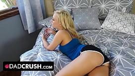 Blonde teen Bailey gets...