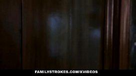 FamilyStrokes - Busty Mom Caught...