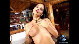 Horny Eve Angel rubbing...