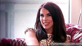 Nasty brunette hoe Megan...
