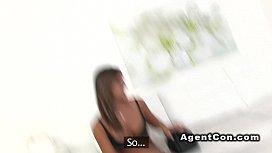 Fake agent bangs tall...