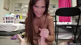 My Girlfriends Hot Mom - MILF and Mature Handjob
