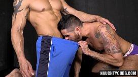Latin gays anal sex...