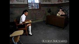 Kinky Ebony Schoolgirl!