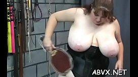 Harsh treatment on mature pussy in hot thraldom xxx