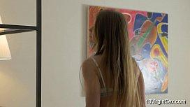 18 Virgin Sex - Virgin teen Jacqueline enjoys masturbation
