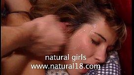 Natural Hairy teeny Pussy...