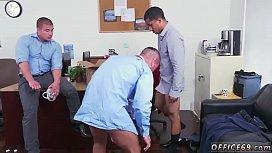Straight guys cum together...