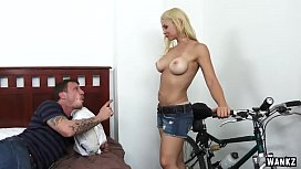 WANKZ- Blonde Sarah Vandella...