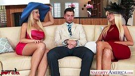 Busty blondes Nikita Von James and Summer Brielle fucking bellatrixbliss