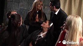 Horny Nuns Cut Loose...