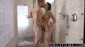 NubileFilms - Hot Shower Sex...