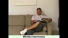Public nudity for cash...