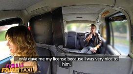 Female Fake Taxi Three...