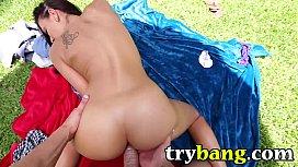 Rachel Starr POV Porn HD Blowjob AND Sex TryBang.com