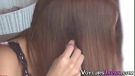 Gorgeous asian babe rubs...