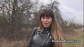 Riding broke amateur pussy...