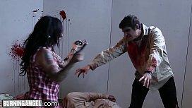 BurningAngel Tattooed Babes HOT Zombie Orgy