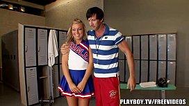 Coach fucks young cheerleader...