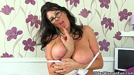 British mature secretaries Lulu...