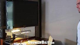 ShowerBait Intense shower fuck...