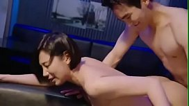 Asians censored fucked, office...