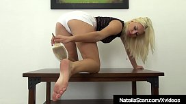 Beautiful Blonde Natalia Starr...