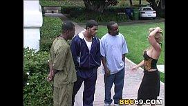 Friday Interracial Gangbang...