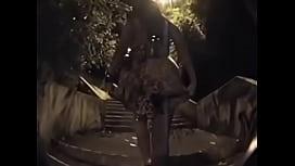 Soraya carioca no escadao...
