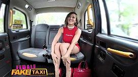 Female Fake Taxi Tattooed...