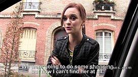 French redhead teen banged...