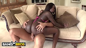 Bangbros Big Booty Black Babe Tatiyana Foxx Taking White Cock From Rocco Reed