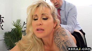 Milf Boss Wants Big Dick Employee To Fuck Her Asshole thumbnail