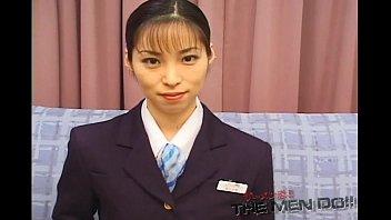 Bukkake Airline 10 Japanese Uncensored Shinjo Yuki