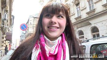Luna Rival&rsquo_s XXX casting in public