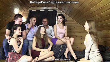 Оргии камшоты студентов