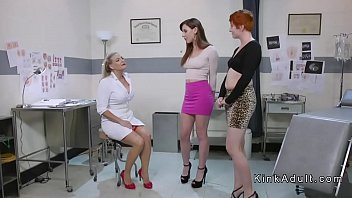 Big boobs doctor anal toys two babes