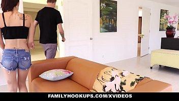 FamilyHookups- Helpful Stepbro Rubs Me Down