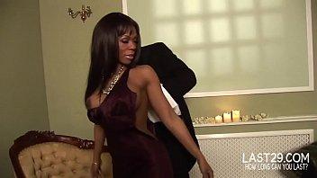 ebony goddess gets huge dick down her vulva