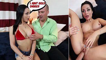 Crystal Rush In Gold Digger Gets a Creampie